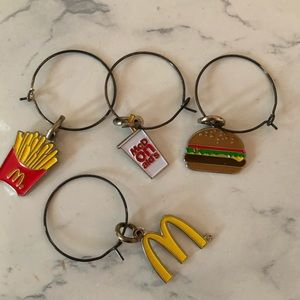 McDonald's wine charms - most fun gift ever 🍷